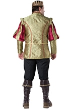 Renaissance Prince Men Plus Deluxe Halloween Costume