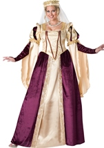 Renaissance Princess Plus Size Woman Costume