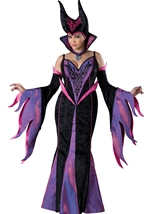Dark Sorceress Woman Plus Costume
