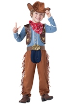Kids Cowboy Western Toddler Deluxe Costume