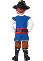 Kids Pirate Boy Toddler Deluxe Costume