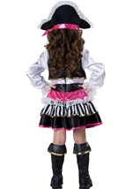 Pirate Girl Deluxe Toddler Halloween Costume