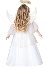 Kids Angel Toddler Girl Deluxe Costume