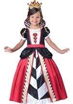Queen Of Hearts Girls Toddler Costume