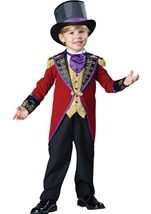 Ringmaster Deluxe Boys Toddler Costume