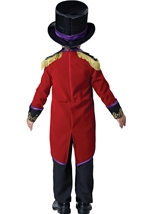 Kids Ringmaster Deluxe Boys Toddler Costume
