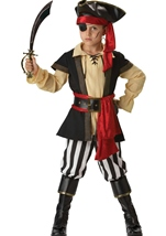 Pirate Scoundrel Boys Deluxe Costume