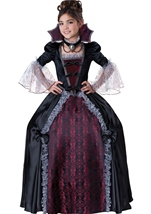 Vampiress of Versailles Girls Deluxe Costume