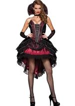 Vampires Vixen Women Deluxe Halloween Costume