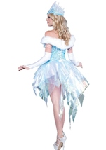 Snow Queen Woman Sexy Ice Queen Deluxe Elite Halloween Costume