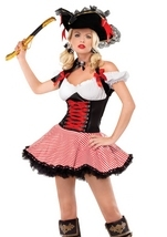 Pirate Wench Halter Woman Costume
