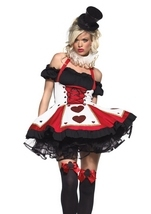 Pretty Playing Card Woman Sexy Costume