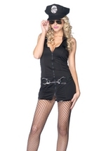 Adult Police Woman Classy Costume