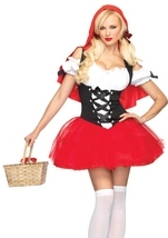 Racy Red Riding Hood Woman Costume