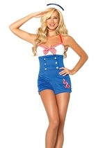High Seas Honey Woman Sailor Costume