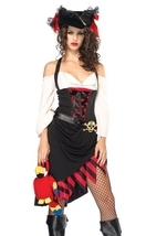 Saucy Wench Pirate Woman Costume