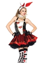 Tea Party Bunny Woman Costume