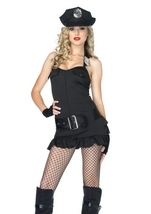 Officer Pat Down Women Halloween Costume
