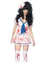 Decaying Sailor Debbie Costume