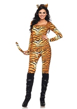 Wild Tigress Woman Costume