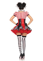 Adult Sexy Harlequin Clown Women Circus Costume