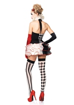 Sweetheart Harlequin Women Circus Clown Halloween Costume