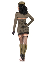 Adult Pin Up Army Girl Woman Costume