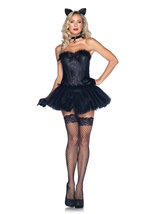 Black Cat Babe Woman Costume