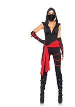 Deadly Ninja Women Halloween Costume