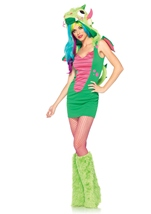 Magic Dragon Women Costume