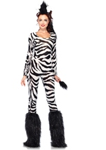 Wild Zebra Women Halloween Costume