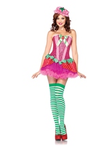 Strawberry Sweetie Woman Costume