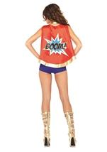 Comic Book Girl Woman Superhero Halloween Costume
