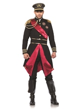 Military General Men Army Costume