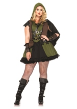 Plus Darling Robin Hood Women Costume