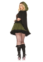 Plus Darling Robin Hood Women Halloween Costume