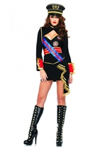 Diva Dictator Women Army Costume