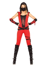 Ninja Assassin Woman Costume