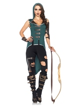 Rebel Robin Hood Woman Costume