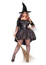 Witch Black Magic Mistress Woman Costume
