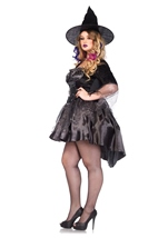Witch Black Magic Mistress Woman Halloween Costume