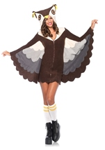 Cozy Owl Woman Costume