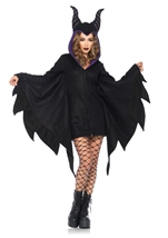 Cozy Villian Hooded Woman Costume