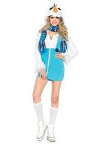 Cozy Snowman Woman Halloween Costume