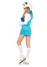 Adult Cozy Snowman Woman Costume