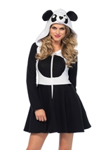 Adult Cozy Panda Woman Costume
