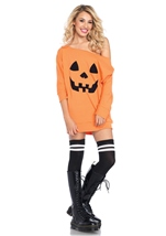 Jersey Pumpkin Woman Halloween Costume