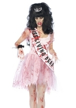 Putrid Prom Queen Halloween Costume