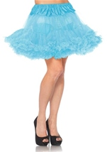 Layered Tulle Light Blue Petticoat