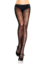 Spider Lace Pantyhose